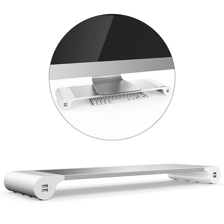 podstawka pod monitor z USB